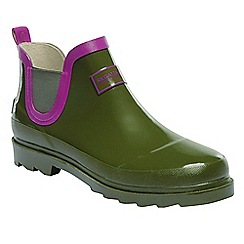 Regatta - Green lady harper wellington boots
