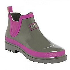 Regatta - Olive/viola lady harper welly