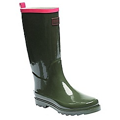 Regatta - Green lady fairweather wellington boots