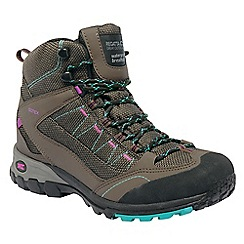 Regatta - Brown/viola lady ultra max ii mid walking boot