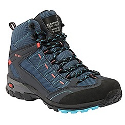 Regatta - Blue/coral lady ultra max ii mid walking boot