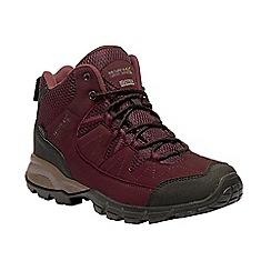 Regatta - Red 'lady Holcombe' walking boot