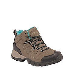 Regatta - Walnut holcombe ladies mid walking boot