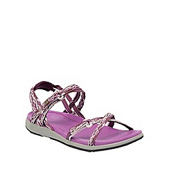 Regatta - Purple lady santa monica sandal