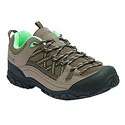 Regatta - Brown lady edgepoint walking shoes
