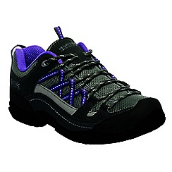 Regatta - Purple lady edgepoint walking shoes