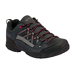 Regatta - Black lady edgepoint walking shoes