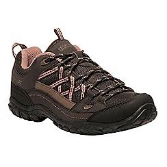 Regatta - Brown 'lady edgepoint' walking shoe