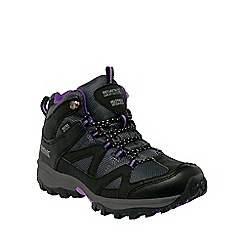 Regatta - Purple Lady gatlin mid walking boot