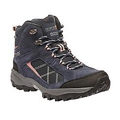 Regatta - Blue 'lady Clydebank' walking boot