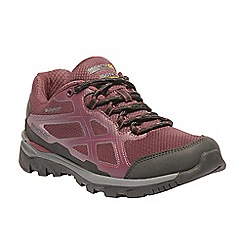 Regatta - Pink 'lady kota' walking shoe
