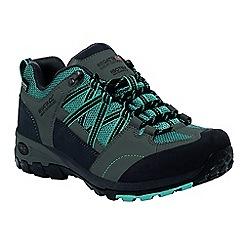 Regatta - Blue lady samaris low hiking shoe