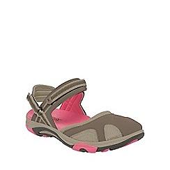 Regatta - Brown/pink lady hayworth sandal