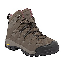 Regatta - Brown lady Burrell walking boots