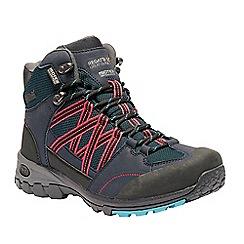 Regatta - Blue 'lady Samaris' hiking boot