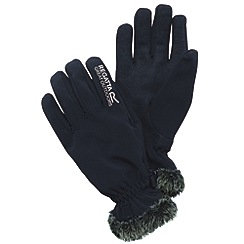 Regatta - Black womens soft shell glove