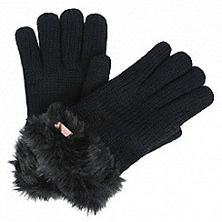 Regatta - Black 'Ludz' gloves