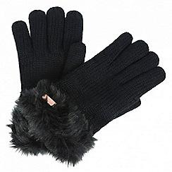 Regatta - Black 'Ludz' gloves