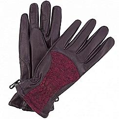 Regatta - Purple 'Garabina' gloves