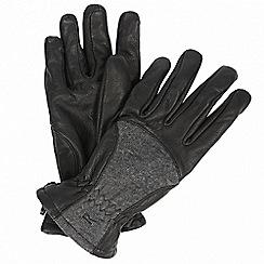 Regatta - Black 'Garabina' gloves