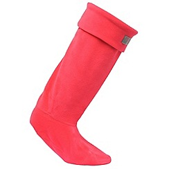Regatta - Pink fleece welly sock