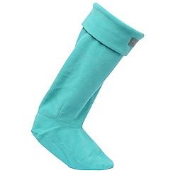 Regatta - Teal fleece welly sock