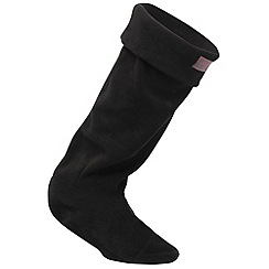 Regatta - Black fleece welly sock