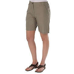 Regatta - Beige crossfell shorts