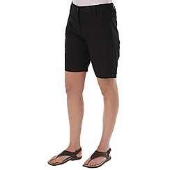 Regatta - Dark grey crossfell shorts