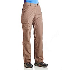 Regatta - Coconut crossfell ii trousers - regular leg length