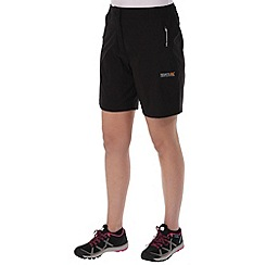 Regatta - Black fellwalk short
