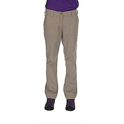 Regatta - Natural womens delph showerproof trousers
