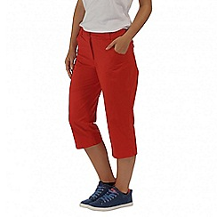 Regatta - Orange maakia capri pant