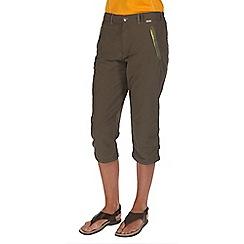 Regatta - Green chaska capri trousers