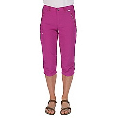 Regatta - Purple chaska capri trousers