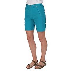 Regatta - Teal chaska lightweight shorts