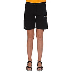 Regatta - Black xert stretch shorts