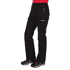 Regatta - Black Fellwalk trousers regular length