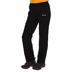 Regatta - Black dayhike showerproof trousers