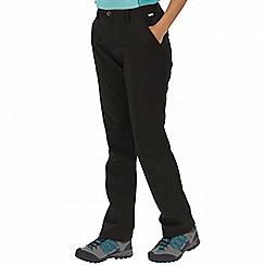Regatta - Black Fenton trousers long length