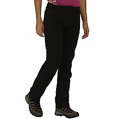 Regatta - Black Dayhike trousers regular length