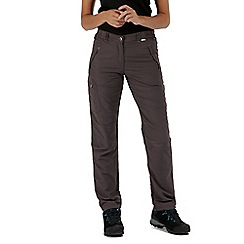 Regatta - Grey Chaska trousers regular length