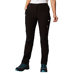 Regatta - Black 'Questra' walking trouser