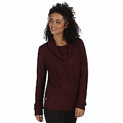 Regatta - Purple 'Karalee' sweater