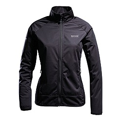 Regatta - Black womens deflector jacket