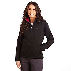 Regatta - Black/purple connie jacket