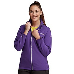 Regatta - Purple vonny softshell jacket