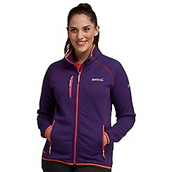 Regatta - Alpine purple dacy softshell jacket