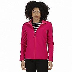 Regatta - Pink 'Connie' softshell jacket