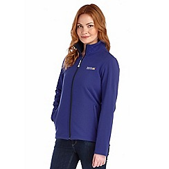 Regatta - Navy connie softshell jacket